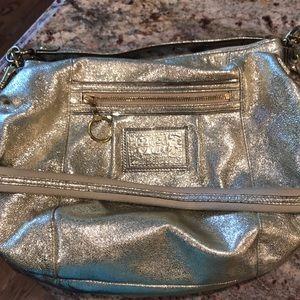 Coach Gold handbag